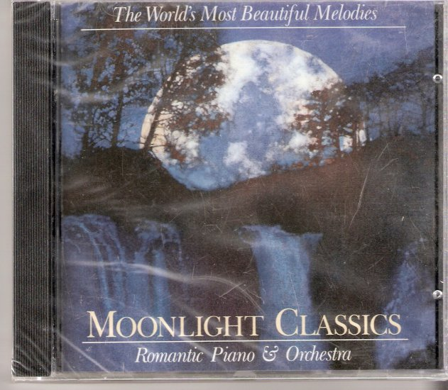 """New Music CD  Classical """"Moonlight Classics Romantic Piano & Orchestra""""   $3.50 shipping included"""