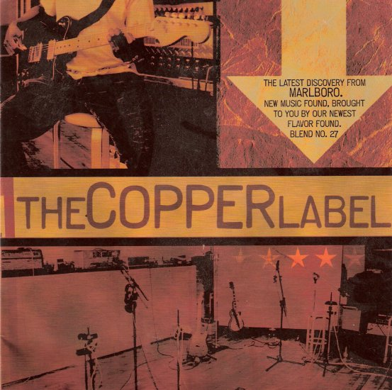 Music CD New Age Rock Marlboro THE COPPER LABEL used $2.50 shipping included