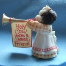 Mary&#39;s MooMoos  Cow figurine  $6.70 shipping included