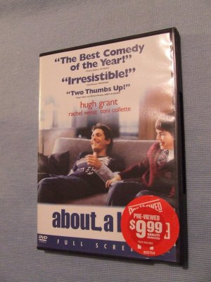 about a boy used DVD   $3.00 shipping included