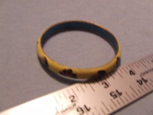 Bracelet. Metal. Yellow with good detail. $ 2.80 shipping included