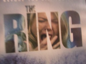 THE RING DVD used widescreen scary movie $3.00 shipping included