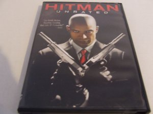 HITMAN Unrated DVD used $3.00 shipping included