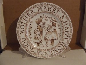 Mother's Day Plate 1973 $ 8.80 shipping included