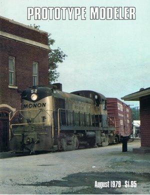 "Railroad book. ""PROTOTYPE MODELER"" Aug 1979 $10.00 postage paid"