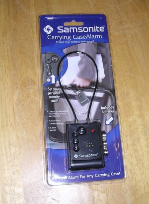 Samsonite Carrying Case Alarm SAP707