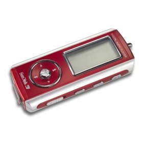 SanDisk 256 MB MP3/WMA Player with FM Tuner and Voice Recorder