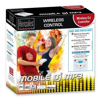 Thrustmaster/Hercules Wireless Mobile DJ MP3 Mixing Mini Controller