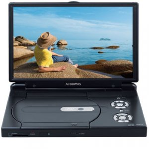"AUDIOVOX D2017 10.2"" Slim Line Portable DVD Player"