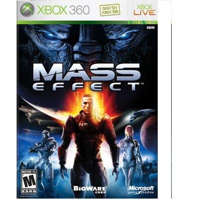 XBOX 360: MASS EFFECT  VIDEO GAME NEW FACTORY SEALED