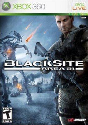 Xbox 360: Blacksite: Area 51 New factory sealed