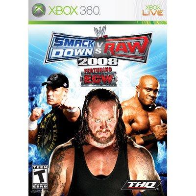 Xbox 360: WWE SmackDown vs. Raw 2008 New