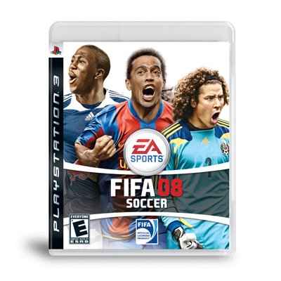 New Sealed PS3 FIFA 08 Soccer