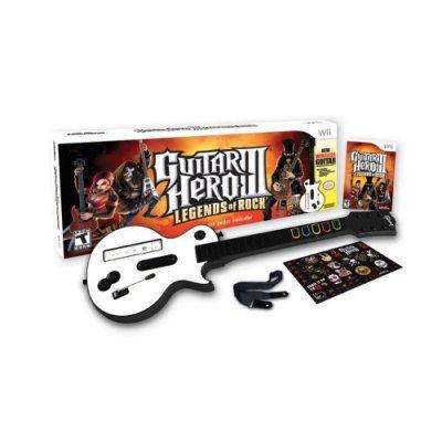 In Stock Guitar Hero 3 III Legends of Rock Bundle Nintendo Wii