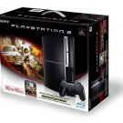 New Sony Playstation PS3 80GB Motostorm Bundle Includes Stranglehold Collectors Edition PS3