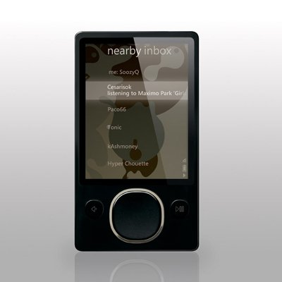 New Black Microsoft Zune 80GB Digital Player 2nd Gen