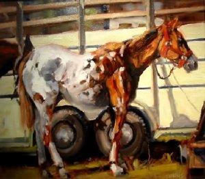 HORSE & TRAILER