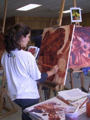 ACRYLIC PAINTING WORKSHOPS (REGISTER ON WEBSITE!)