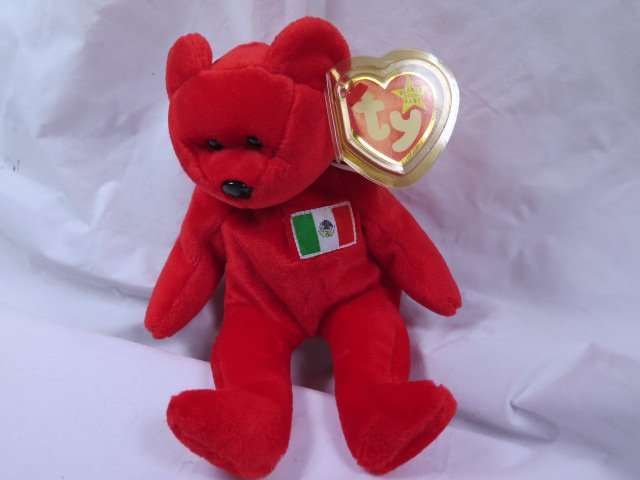 6d313c94984 Beanie Baby  TY Beanie Baby   Osito  the red bear (MEXICO) USA EXCLUSIVE