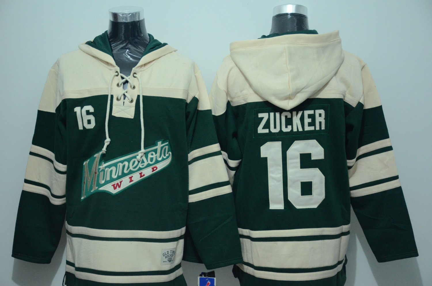 best loved d1cbd b15f1 2018 Men Minnesota Wild 16# Jason Zucker Jersey Green