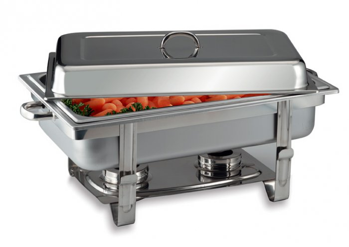 KTCHAF/00: SPECIAL SALE-Stainless Steel Chafing Dish - Family Functions & Get Togethers