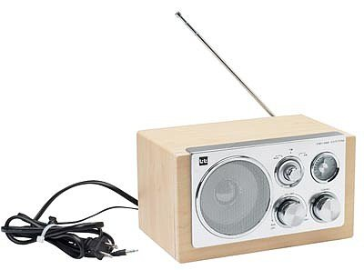 ELFMAMSYS/00: AM/FM Radio with MP3 Hookup