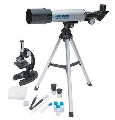 SPMICTEL: OPTISAN Telescope/Microscope Set/Sold Out-ETA N/A