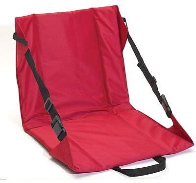 SPSEATRD: CLUB FUN PADDED STADIUM SEAT, RED