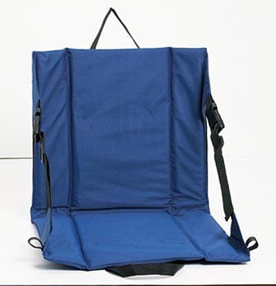 SPSEATBL: CLUB FUN PADDED STADIUM SEAT-BLUE
