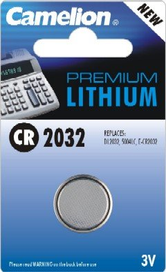 CR2032-BP1: 3 Volt Lithium Button Cell Battery: Add to your order for little to no extra on S&H