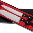 CTSZ2/00: Slitzer 2 pc Knife Set-Santoku and Carving Knife