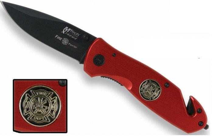 MX8017F: MTech Fire Fighter Rescue Responder Knife