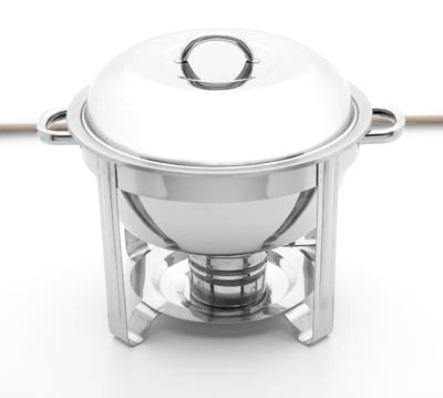 KTCHAFSM/00: Maxam Stainless Steel Chafing Dish - Family Functions & Get Togethers