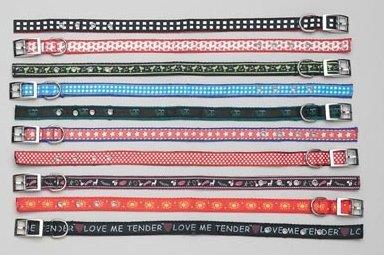 "SPC10: 10pc Set of CLUB FUN 18"" Assorted Pet Collars"