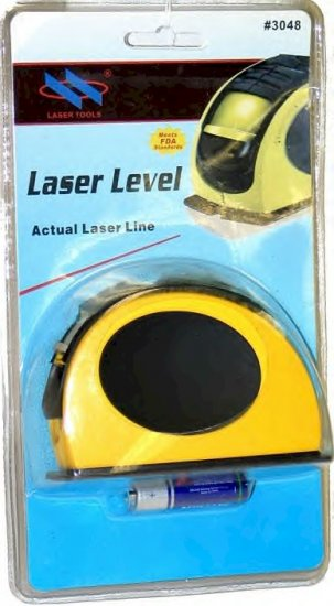 MTLL: YORKCRAFT RED BEAM LASER LEVEL