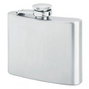KTFLASK4/00: Wholesale Maxam Stainless Steel Quality Liquor Flasks -4 oz.