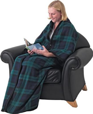 SALE GFSNUG/00: MAXAM Fleece Snuggler Blanket Robe - Snuggle Blanket Robe