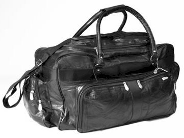 LUL232/00: Embassy Leather Travel Bag