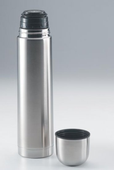 KTHERMONE: MAXAM Stainless Steel 1qt Vacuum Bottle Thermos