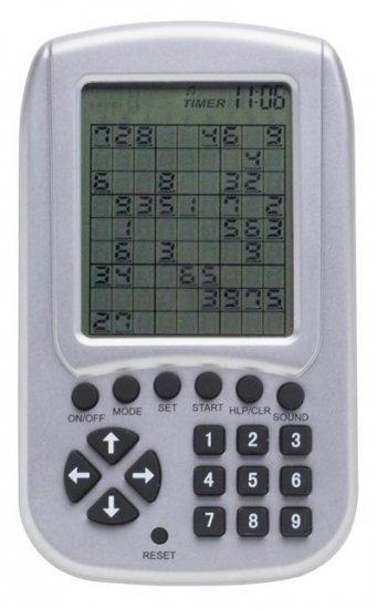 ELSUDOKU/00: Electronic Sudoku Handheld Game-While Supplies Last