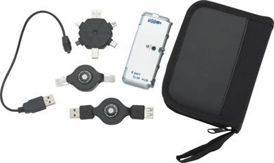 ELHUB/00: SALE: Mitaki Japan 6pc USB Travel Kit
