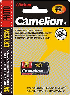 CR123A-BP1: CAMELION 3 Volt Lithium Camera Battery: Add to your order for little to no extra on S&H