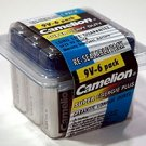 6F22PB6B: CAMELION 9 Volt Batteries-6 Pack: Add to your order for little to no extra on S&H
