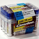 "R03P-BP24: CAMELION ""AAA"" Super Heavy Duty Batteries-24: Add to order for little to no extra on S&H"