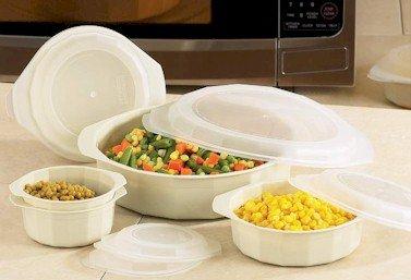 KTMW10/00: La Cuisine 10pc Microwave Cookware Set