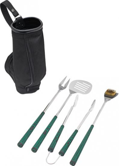 KTBQGOLF/00: Final Close Out SALE: CHEFMASTER 4 pc Golf BBQ Grill Tool Set - Great For Gifts OOS