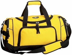 LUSDYW21/00: Extreme Pak 21� Yellow Sport Duffle Bag
