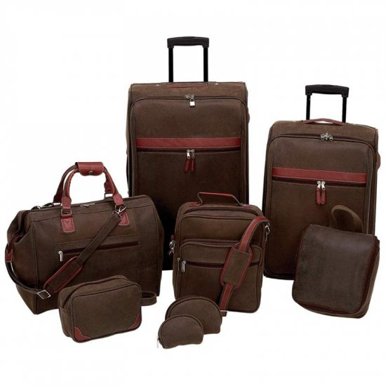 LUPVSET8/00: SALE-Gigi Chantal 8 pc Luggage Set