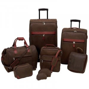 LUPVSET8/00: SALE-Gigi Chantal 8 pc Luggage Set