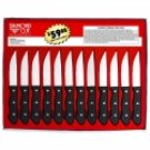 CTJDCS12/00: Diamond Cut-12 pc Jumbo Steak Knife Set